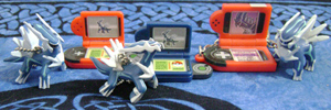 Dialga Pokedex Keychains (3)