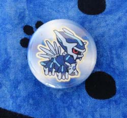 Pokemon Dialga Pokedoll Design Badge