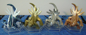 Pokemon Center Dialga Prize Figures