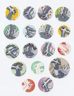 Dialga Puchi Puchi Stickers