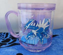 Pokemon Dialga Purple Glitter Mug