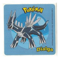 Dialga Blue Sandylion Sticker