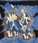 Dialga Custom Laminated Cutout by Sorjei