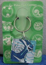 Dialga Thick Pokemon Center Keychain