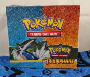 Pokemon Dialga Triumphant Box