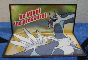 "Dialga ""Be Mine! [no pressure]"" Valentine"