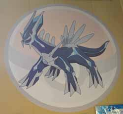 Pokemon Dialga Wall Graffix Sticker