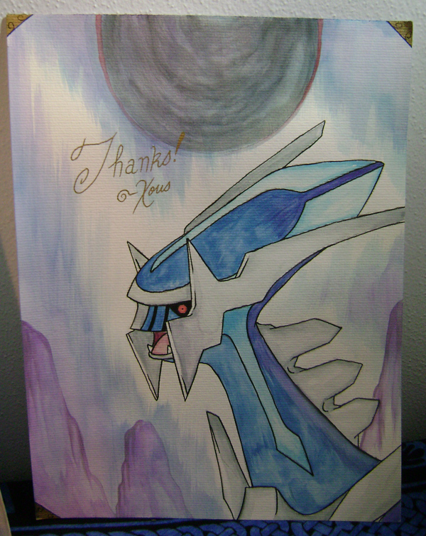 Dialga Art by Xous