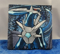 Dialga Mini Painting by Zenity