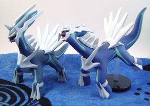 Pokemon Dialga 1/50 Zukan Figures (2)