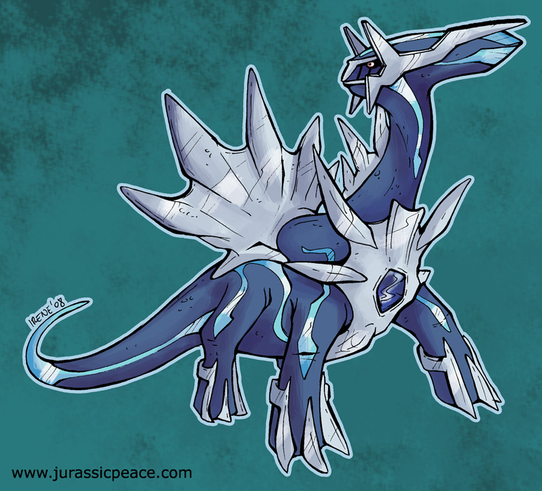 Dialga custom art by moguryuu of pkmncollectors