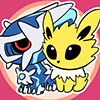 Dialga and Jolteon icon by moguryuu of pkmncollectors