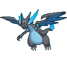 Pokemon Mega Charizard X sprite