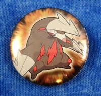 Pokemon Excadrill Can Badge