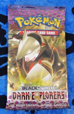 Pokemon Excadrill Dark Explorers Booster Pack