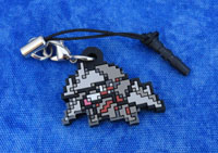 Pokemon Excadrill Dot Sprite Charm