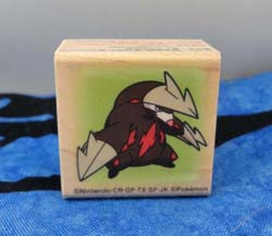 Pokemon Excadrill Wooden Stamp