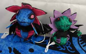 Pokemon Hydreigon Custom Bell Plush (normal and shiny)