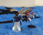 Pokemon Hydreigon Clipping Figure