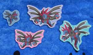 Hydreigon Ensky Magnets (5)