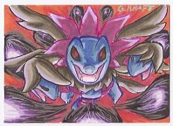 Pokemon Hydreigon ACEO