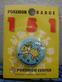 Jolteon 151 Collection Badge/Pin