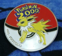 Jolteon Pokemon 2000 Badge/Pin