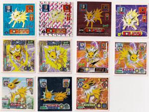 Jolteon Retsuden Amada Stickers (11)