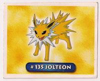 Jolteon Argentina Sticker