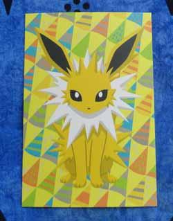 Jolteon Pokemon Center Postcard