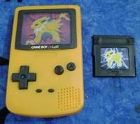 Pokemon Jolteon Game Boy Color