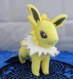 Pokemon Jolteon Keychain Plush