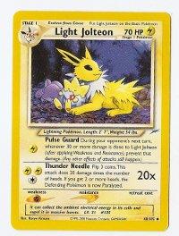 Jolteon Neo Light Jolteon TCG
