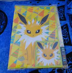 Jolteon Pokemon Center Coaster and Placemat Set