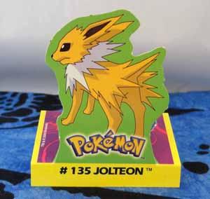 Jolteon Stand Up Card