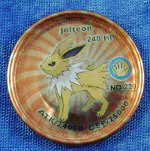 Jolteon Metal Red Disc