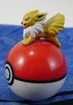 Jolteon Figure on Pokeball