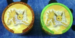 Jolteon Pokemon Rollers (Orange and Green)