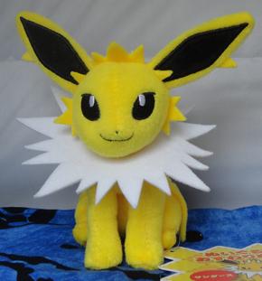 Pokemon Center Jolteon Sitting Plush