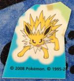 Jolteon Pokemon Center Window Decal Sticker