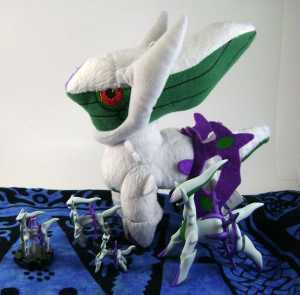 Pokemon Draco Plate Arceus Collection
