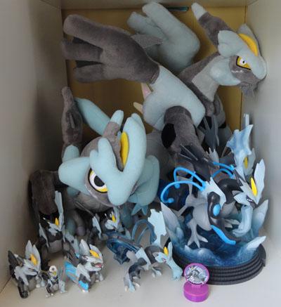 Black Kyurem Pokemon Collection