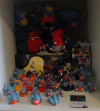 Pokemon Gible Gabite Garchomp Collection
