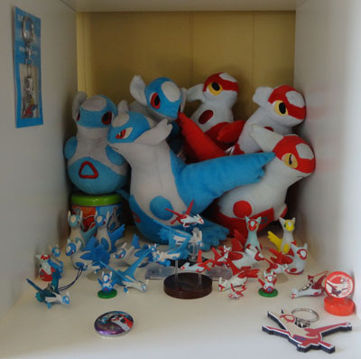 Pokemon Latias and Latios Collection