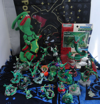 Pokemon Rayquaza Collection