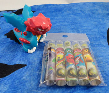 Pokemon Center Dragon Selection Items