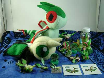 Pokemon Vibrava and Flygon Collection