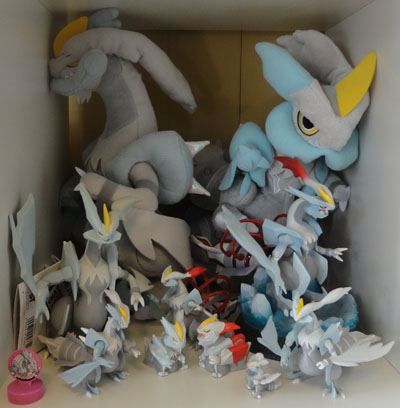 White Kyurem Pokemon Collection