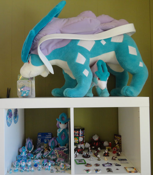 Pokemon Toys of Suicune and Excadrill