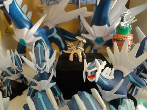 Pokemon Dialga Sterling Silver Figure and other Figures